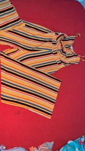 Braga enterizo amarillo