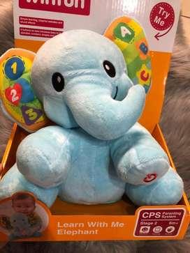 Elefante Didactico Winfun Tipo Fischer Price nuevo