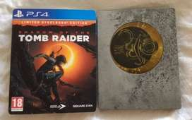 Steelbook Edition Shadow Of The Tomb Raider Playstation 4 PS4, Físico