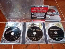 Colección Jurassic Park en Bluray