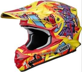 Casco Shoei Vfx W Justin Barcia Bam Bam Motocross Enduro Mx