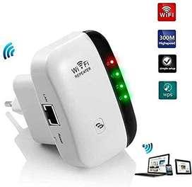Extensor WiFi LV-WR03, amplificador señal internet 300 Mbps