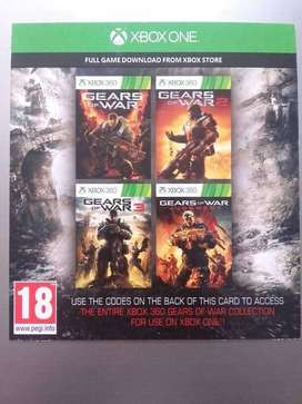 Coleccion Gears Of War 1,2,3 y Judgment DLC Xbox One