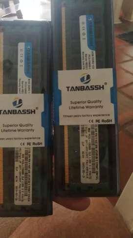 Memoria ram  8GB ddr3 1333 ghz PC3-10600
