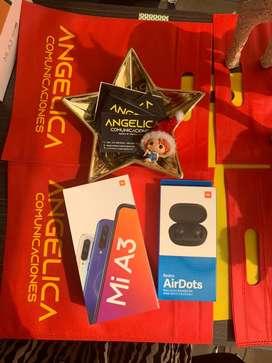 XIAOMI A3 64gb factura nuevos garantia Angelica Comunicaciones