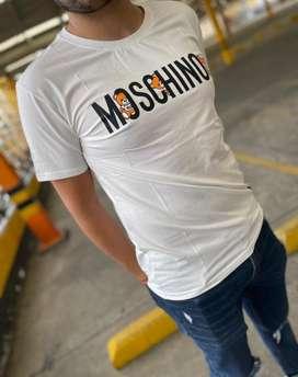 Camisetas masculinas moschino envio gratis