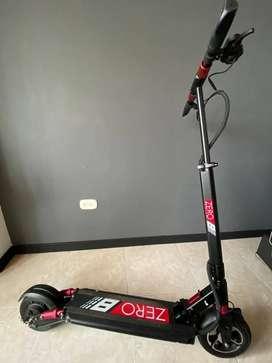 Patineta electrica scooter ZERO 8 - 2 meses de uso