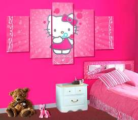 Cuadros Decorativos Hello Kitty