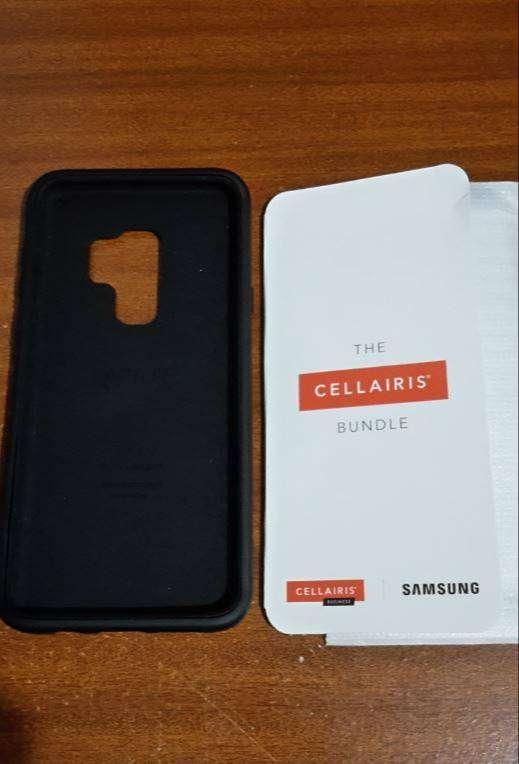 Case Estuche Y Mica De Vidrio Glass Para Samsung S8 O S9+