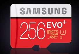 Samsung micro SD 256  gb Nuevo Original Sellado
