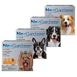 Tabletas Masticables Nexgard