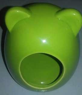 Baño cerámica para roedores chicos