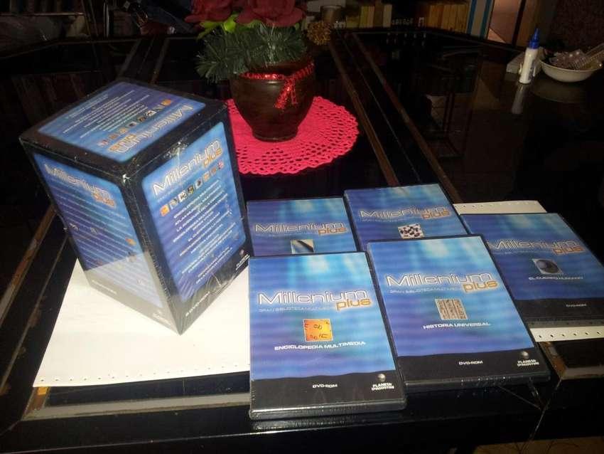 Enciclopedia Multimedia Millenium Plus Ed. Planeta 8 Dvds