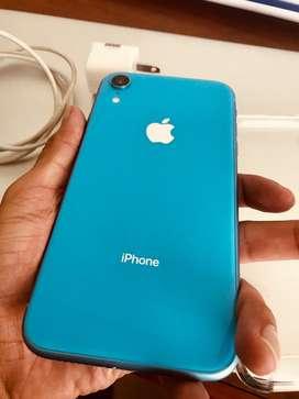 Iphone Xr 128 Gb Azul 3 meses de Uso como Nuevo