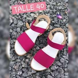 Sandalia elastizada disponible