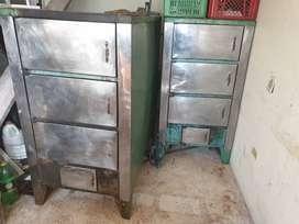 Dos hornos para asar lechona