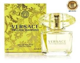 Perfume Versace Yellow Diamond Mujer 90 Ml Original Sellado