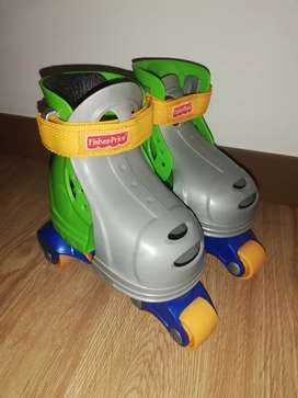 Patines fisher price 1 2 3