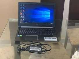 Lapto acer i5 8 generación 6 ram 1 tera de almacenamiento