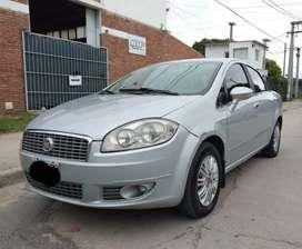 Fiat línea 1.9 mod 2010 c/gnc, full, muy buen estado!