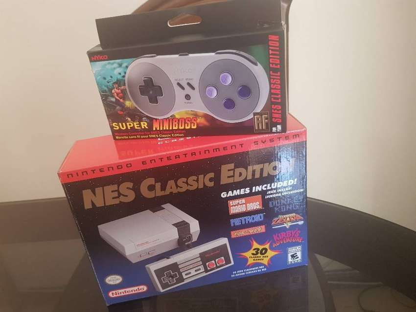 Nintendo NES Classic Edition Impecable! 0