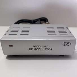 Modulador RF, conversor de audio video a tv, a revisar o repuestos