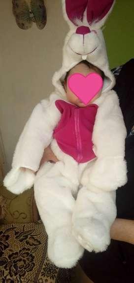 Disfraz de Conejo Nuevo Talla 0