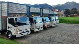 Acarreos taxicamionetas Bogotá en tan solo 30 min