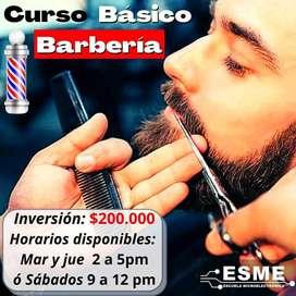 CURSO BÁSICO DE BARBERÍA ️