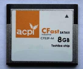 Tarjeta Memoria Cfast Toshiba ACPI 8GB