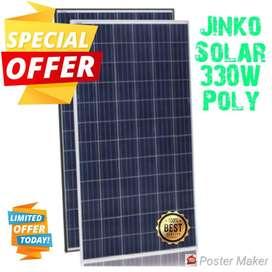 Panel Solar Jinko 330w Poly