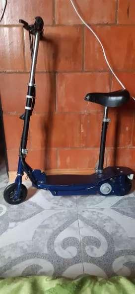 Patineta scooter no prende ni carga