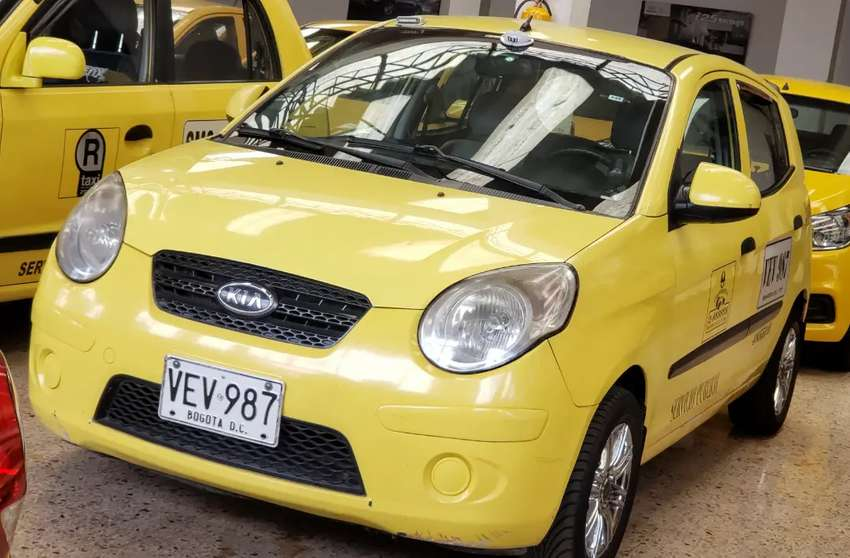 TAXI KIA MORNING MODELO 2009 0