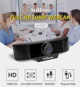 Cámaras web 1080p incorporado el micrófono buena calidad