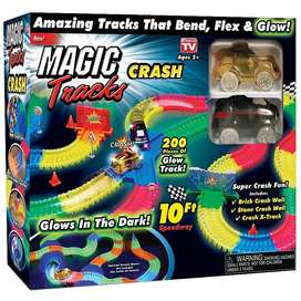 MAGIC TRACKS PISTA DE CARRERAS CRASH