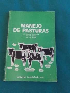 MANEJO DE PASTURAS . JOSEPH WOOLFOLK DR SEARS LIBRO CAMPO