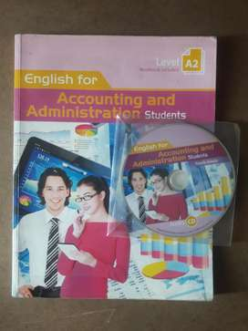 Vendo libro English for Accounting and Administration(Level A2)