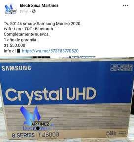 "Tv. 50"" 4k smartv samsung Crystal 2020"