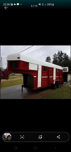 Trailer para 4 caballos