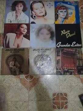Colección de lp de baladas