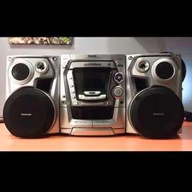Equipo de sonido / Minicomponente Panasonic