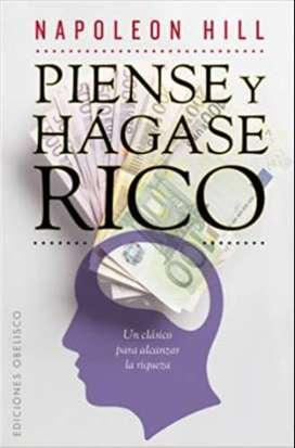 Piense y Hágase rico, por Napoleón Hill, experiencia para conseguir el triunfo económico y personal de la humanidad