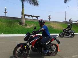Clases de Manejo de motos en la costa verde