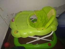 Andador de Bebé Color Verde Mixto