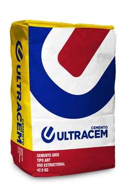 Cemento Gris Uso Estructural  42,5 kilos -ULTRACEM