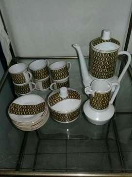 Juego de Cafe Porcelana Magdalena Nuevo