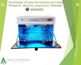 Esterilizador UV para Herramientas de trabajo Peluquería, Manicura, Acupuntura, Podología