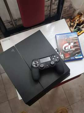 Ps4 fat de 500gb con un juego