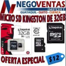 MICRO SD DE 32 GB , TARJETA DE MEMORIA DE 32 GB