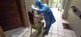 realizo a domicilo servicios de enfermería colocacion de sondas vesical y nasogastrica  sueros inyecciones suturas